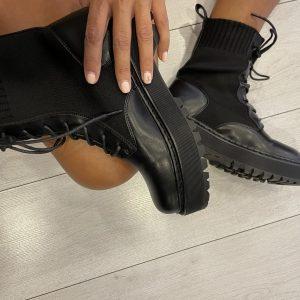 Bota militar calcetín